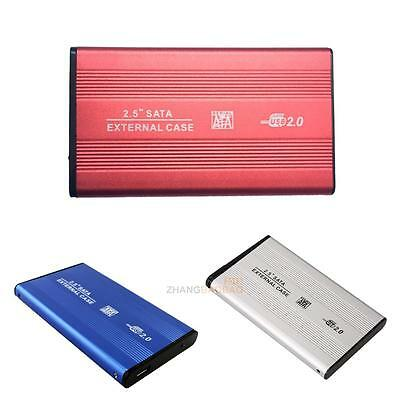 "USB 3.0 External Enclosure Case Box&Cable For SATA 2.5"" inch Hard Disk Drive HDD"