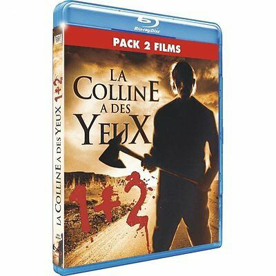 La Colline A Des Yeux 1 + 2  - Pack 2 Blu-Ray Neuf Et Emballe