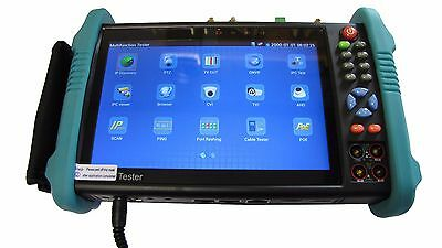 "M IPC-500E 7""Touch screen ONVIF TVI AHD CVI IP CVBS WiFi MULTIMETER CCTV Tester"