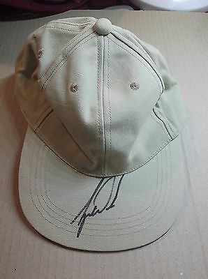 Tiger Woods ~ Hand Signed Cap