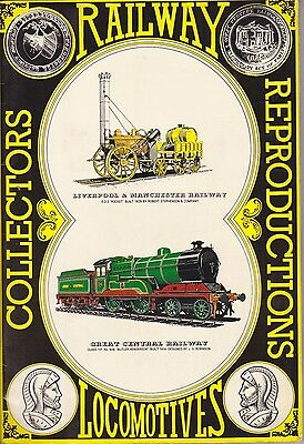 Collectors Railway Reproductions Locomotives complete with all 60 Postcards