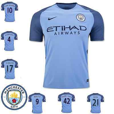 Manchester City New Jersey 2016-2017 Home Blue White