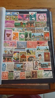 47 timbres Philippines (lot 10)