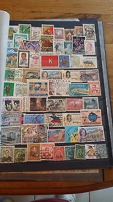 55 timbres Philippines (lot 11)