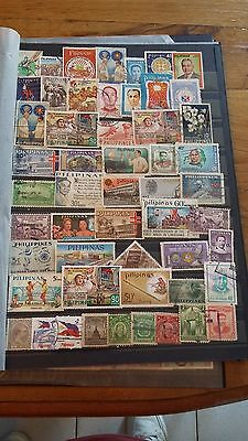 52 timbres Philippines (lot 12)