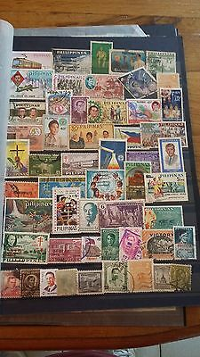 52 timbres Philippines (lot 13)