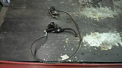 Piaggio Zip 50 - Front Brake Master Cylinder Caliper - COMPLETE - Ready to go