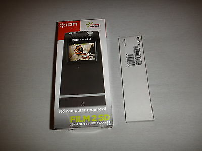 Boxed Ion Film 2 SD 35mm Film and Slide scanner to SD Card
