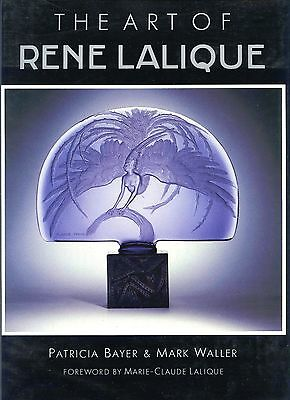 French Lalique Art Glass - Vases Sculptures Lamps Perfumes Jewelry / Scarce Book