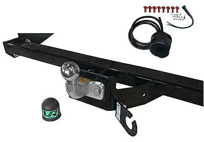 Fixed Flange Towbar For Renault MASTER III + 7 Pin Electrics 10 On 31104/SF_H3