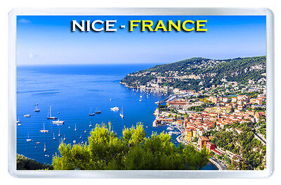 France Nice Mod3 Fridge Magnet Souvenir Iman Nevera