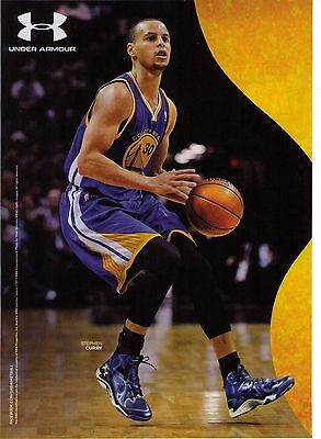 """Under Armour Steph Curry """"Anatomix"""" Basketball Shoe Print Advertisement"""