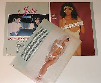 JACKIE ST CLAIR 5 page 1989 nude article photos Miss Hawai Prince girlfriend