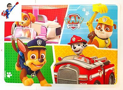 Official Paw Patrol Large Place Mat Dinner | New | Eating | Gift | Children