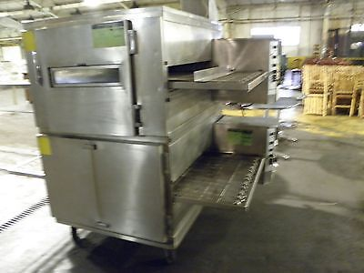 """Lincoln Impinger 1000 1050 Hp Series 32"""" Conveyor Nat Gas Pizza Conveyor Oven"""