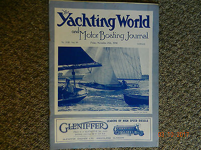 the yachting world