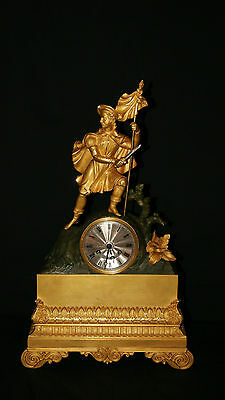 Antique French Mantel Clock ,C.F. PETIT A PARIS,circa 1820