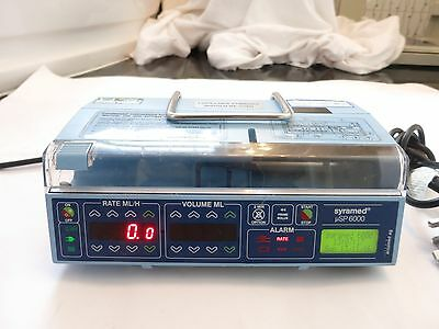 ARCOMED AG uSP 6000 SYRAMED FLUID ADMINISTRATION SYRINGE INFUSION PUMP DRIVER UK