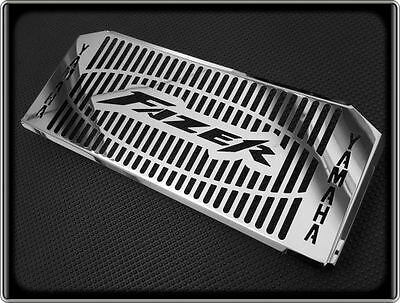 RADIATOR GRILL for YAMAHA FZ6 FAZER 600, 98 to 03 (POLISHED COOLER COVER GUARD)