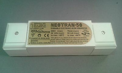 Neotran 50 dimmable neon converter 1.0kV,  75mA NEO-10-075-T-230-RD