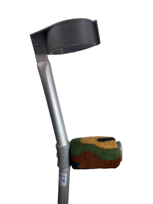 Crutch Handle Padded Covers HIGH QUALITY Cushioned Foam Pad - Camo