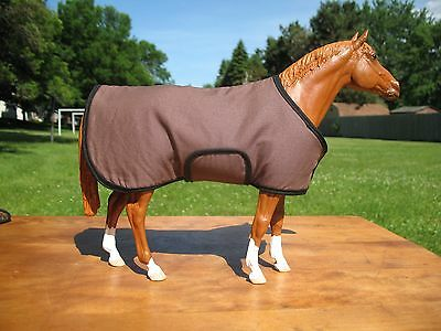 Breyer/model horse stable blanket - traditional scale