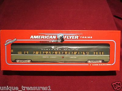 AMERICAN FLYER  6-48925 NORTHERN PACIFIC PASSENGER CAR COACH S Scale