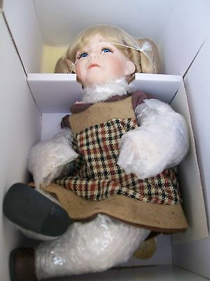 limited edition hillview lane enchanted porcelain doll ashleigh