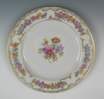 Royal Bayreuth ROB41-FLORAL SPRAY Motif 2 Dinner Plate EXCELLENT