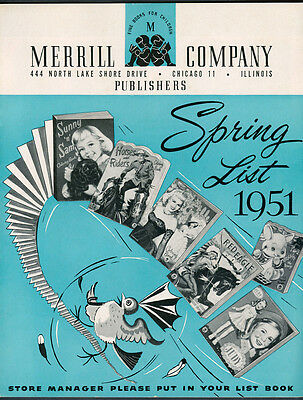 1951 Spring and Summer Merrill Company Publishers Catalog (5495)