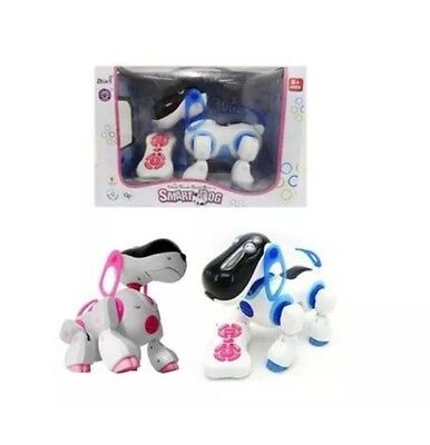 RC Interactive Remote Control i-ROBOT Pet Dog Walking Puppy Educational Kids Toy