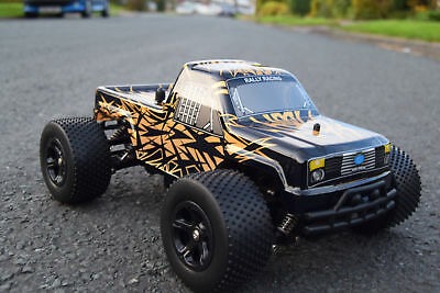 High Speed Monster Truck Buggy Radio Remote Control Car 1/16 Suspension 10Mph
