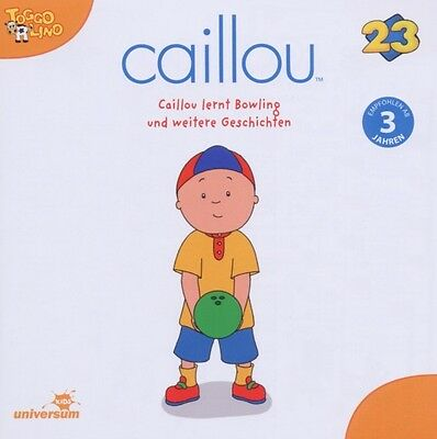 Various-Caillou 23 Audio:caillou Lernt Bowling Und Weitere-Cd Ufa Neu