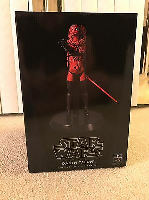 Star Wars Darth Talon 1/6th Scale Statue by Gentle Giant - Sealed And Complete