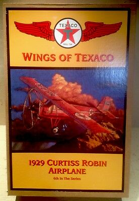 Wings Of Texaco Series Airplanes #6 1929 Curtiss Robin Limited Edition 1998