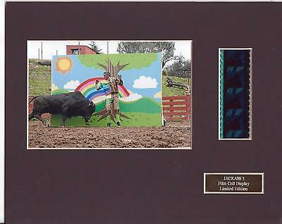 Jackass 3 Film Cell Display Limited Edition