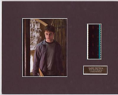 Harry Potter 6 Film Cell  Display Limited Edition Rare