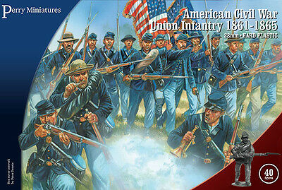 Perry Miniatures ACW115 American Civil War Union Infantry 1861-65