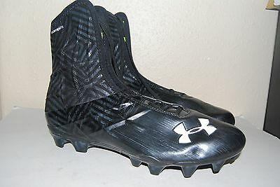 UNDER ARMOUR Highlight Compfit Corespeed Football Cleat Boots Black Size 13