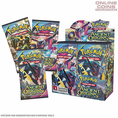 POKEMON TCG XY Ancient Origins - FOUR 10 Card Booster Packs - 40 CARDS IN TOTAL!