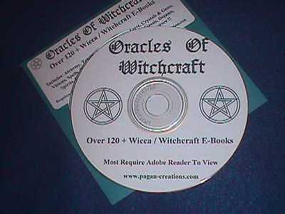 120+  Witchcraft eBooks On CD  Spells, Rituals, Secret & More  Pagan Wicca Witch
