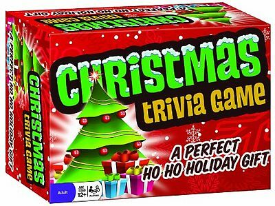 Outset Media Christmas Trivia Game {Card Games} [13335] TYCX, CXX