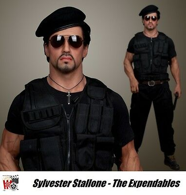 Sylvester Stallone - Expendables Statue / Figur 200 cm Lebensgroß (Life-Size)