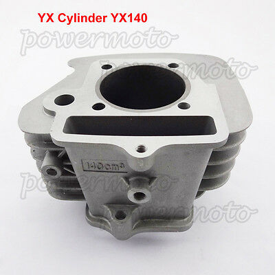 YX140 Engine 56mm Bore Cylinder Fit Dirt Pit Bike YX 140cc Pitster SSR YCF IMR