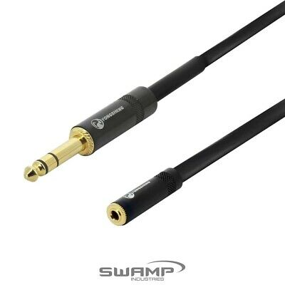 Headphone Extension Cable 6.5mm TRS Stereo Jack to 3.5mm TRS Mini Jack(f) - 3m
