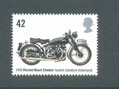 Great Britain-Vincent Black Shadow fastest Motorcycle-motorbikes mnh