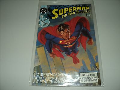 Superman The Man of Steel Issue 1