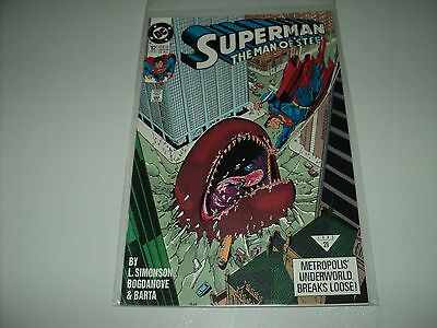 Superman The Man of Steel Issue 12