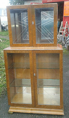 Vintage Art Deco Display Cabinet.