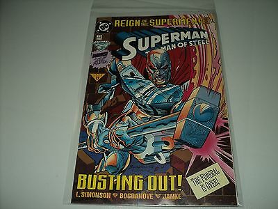 Superman The Man of Steel Issue 22